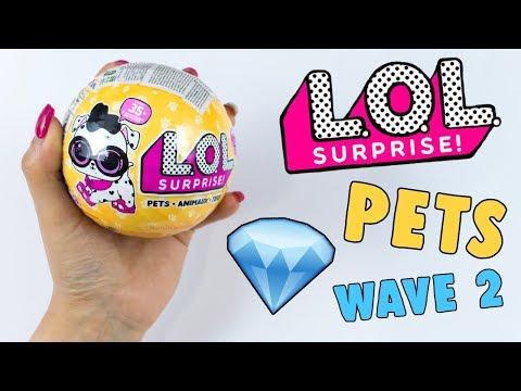 LOL SURPRISE PETS SERIE 3 WAVE 2!! FINALMENTE HO TROVATO LA PETS CHE ADORO!!
