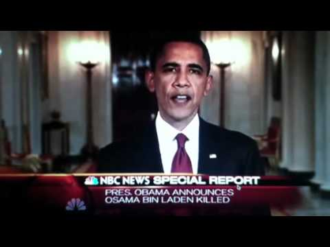 an analysis of president barack obamas speech on the death of osama bin laden and the fight against