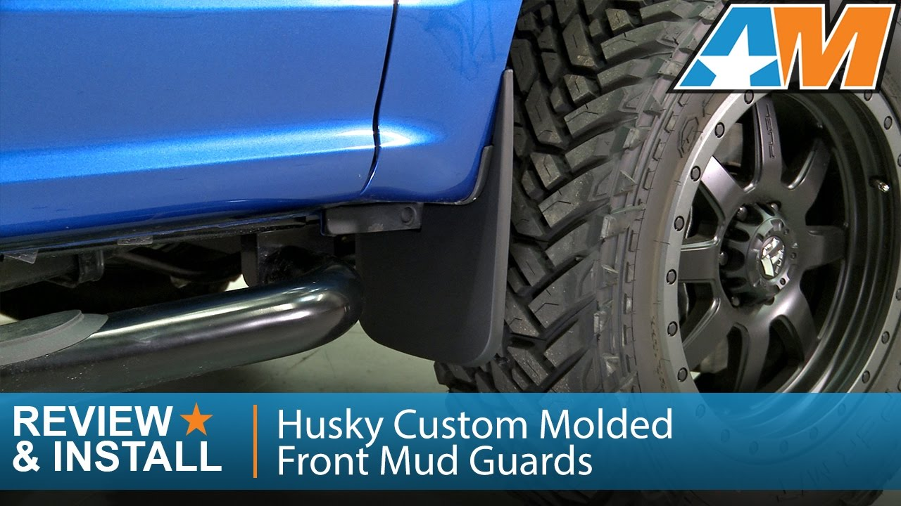 Husky Custom Molded Front Mud Guards Review Install Youtube