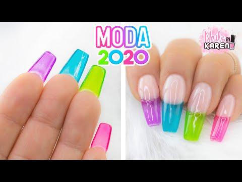 Uñas De Moda Tendencia 2020 Colores