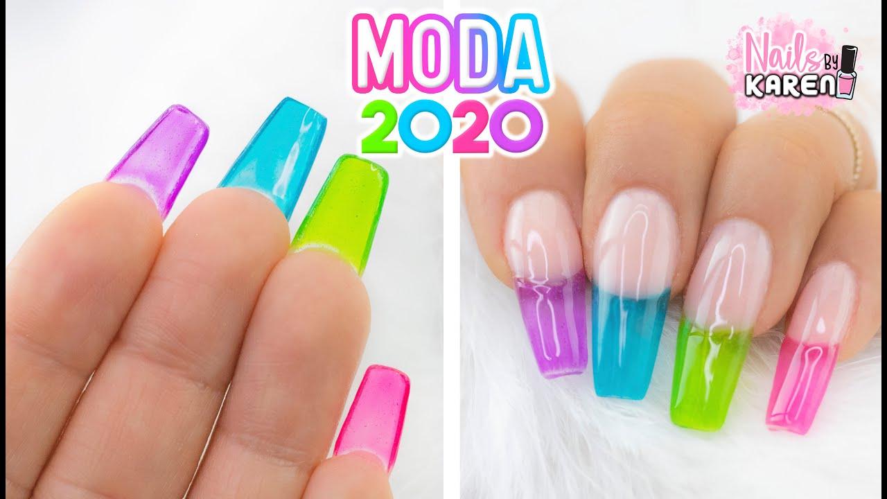 Uñas De Moda Tendencia 2020 Colores Youtube