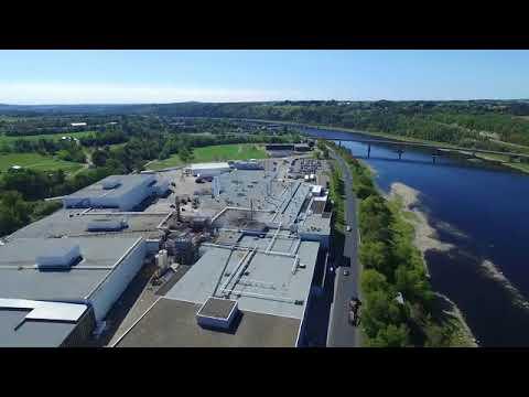 McCain Foods Canada potato processing plant in Florenceville-Bristol, New Brunswick