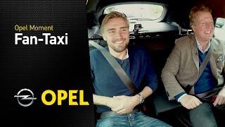 OPEL FanTaxi mit Marcel Schmelzer