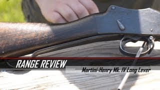 Range Review: Martini-Henry Mk IV Long Lever