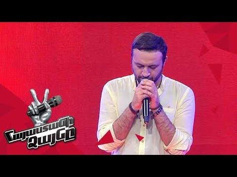 Grigor Davtyan sings 'Hello' - Blind Auditions - The Voice of Armenia - Season 4