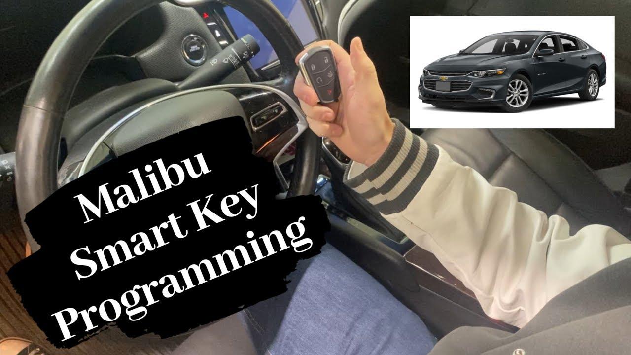 How To Program A Chevrolet Malibu Smart Key Remote Fob 2013 2021 Youtube