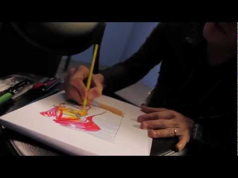 Gerard Drawing the Party Poison Tee