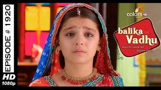 Balika Vadhu - 13th June 2015 - बालिका वधु - Full Episode (HD)