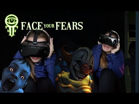 Face Your Fears! Scary Gear VR Reaction!