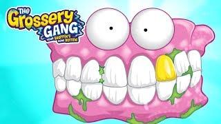 Grossery Gang Cartoon 🔥 MEET FALSE TEETH 🔥 | Videos For Kids | Toys For Children