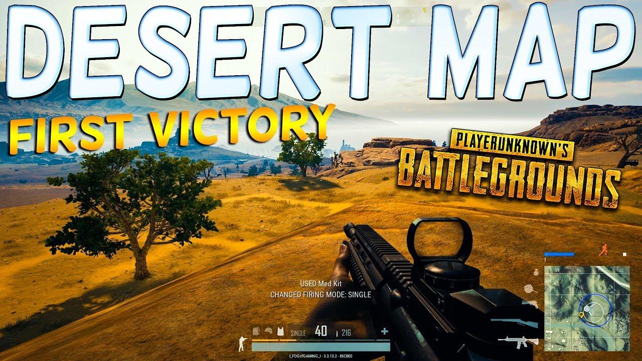 Playerunknown S Battlegrounds Desert Map