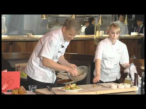 Gordon Ramsay Steak Interview At Paris Las Vegas 5-11-12