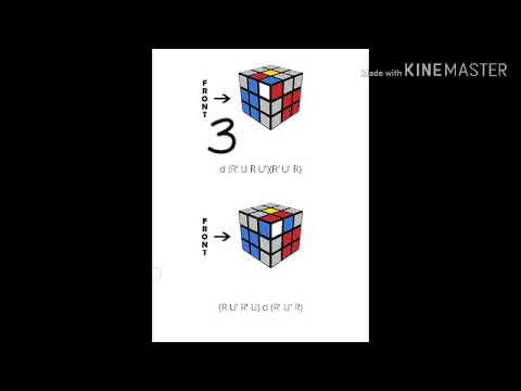 F2l made easy to reduce moves |3×3 rubiks cube(algorithm)