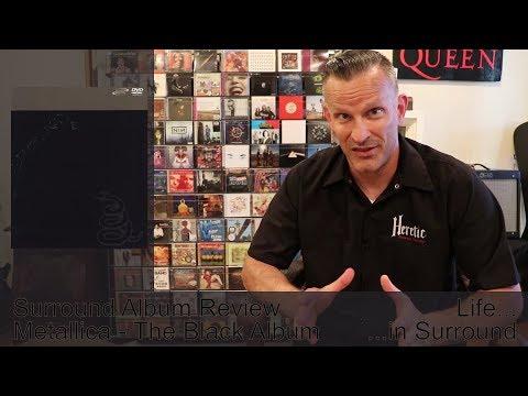 Metallica - The Black Album - Surround Album Review - 5.1 DVD-Audio