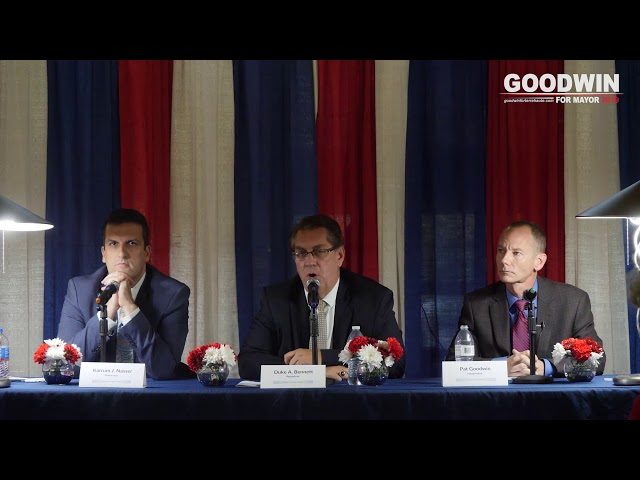 Mayoral Forum – League of Women Voters (10/1/2019)