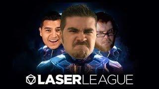 AJ & OJ Play Laser League - VERY INTENSE MATCH!