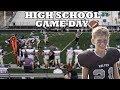 HIGH SCHOOL FOOTBALL GAME DAY VLOG!