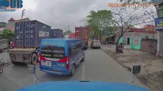 [Vietnam traffic] Serious container truck accident in Hai Phong City, VN