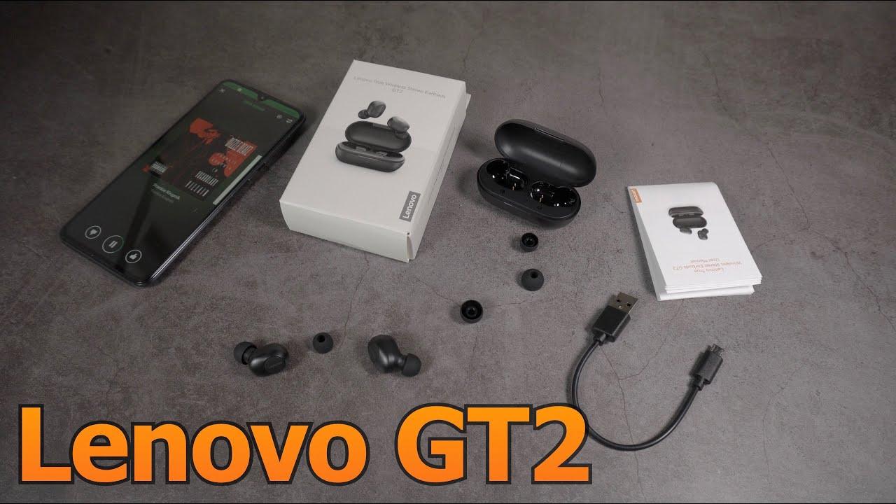 Бюджетные наушники Lenovo GT2