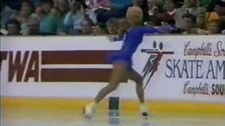 Tonya Harding (USA) - 1986 Skate America, Ladies' Long Program