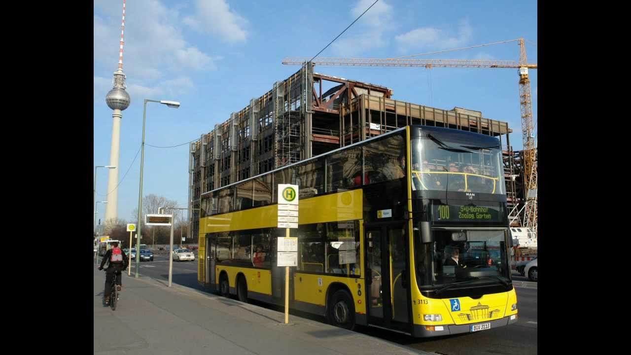 sound bus man lion s city dd der bvg berlin auf der linie 100 s u alexanderplatz youtube. Black Bedroom Furniture Sets. Home Design Ideas