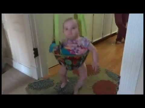 """Adorable Jumping Baby - 3 Hours to Jon Hopkins' """"Open Eye Signal"""""""