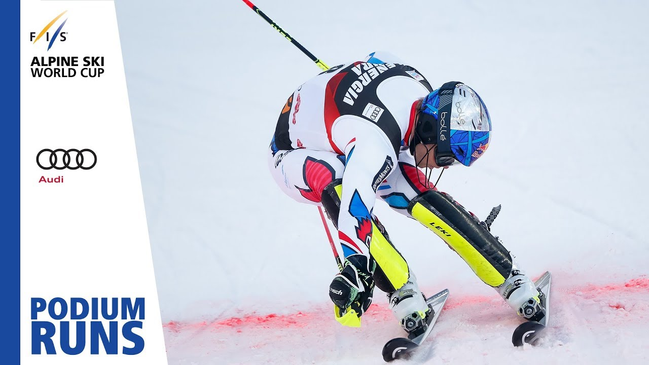 Alexis Pinturault Men S Slalom Zagreb 2nd Place Fis Alpine Youtube