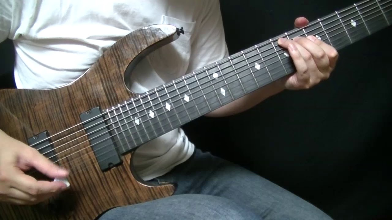 Animals As Leaders Arithmophobia All Guitar Cover Youtube