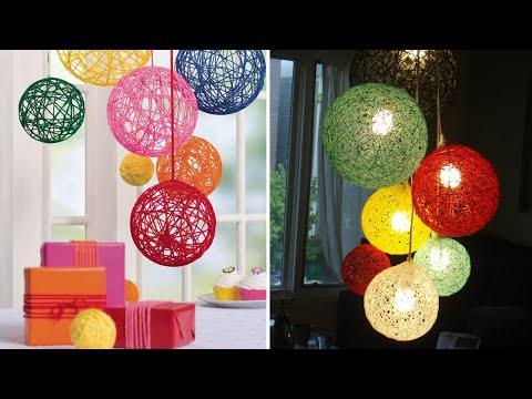 Amazing DIY idea!!!!   Balloon craft idea   DIY arts and crafts   DIY   Home decor   #DotsDIY