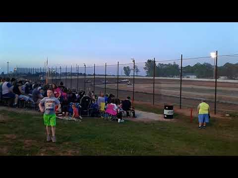 Nevada Speedway pure stock heat race 5/5/18