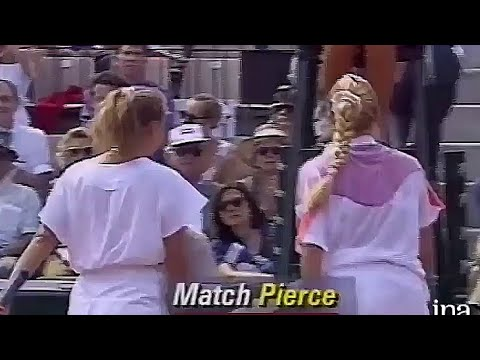 Mary Pierce Vs Andrea Strnadova 1992 RG R3 Highlights