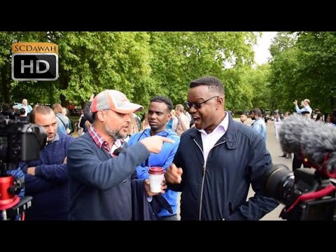Upon deaf ears! Hashim Vs Christian   Speakers Corner   Hyde Park