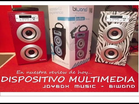 REVIEW - Biwond JoyBox Music - REPRODUCTOR MULTIMEDIA