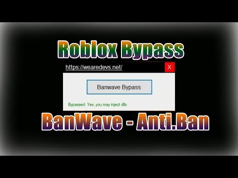 Roblox Anti-Ban | BanWave Bypasser | 2018 *Working*