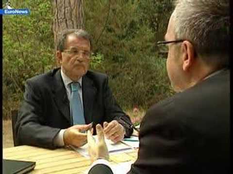 EuroNews - IT - Interview: Romano Prodi