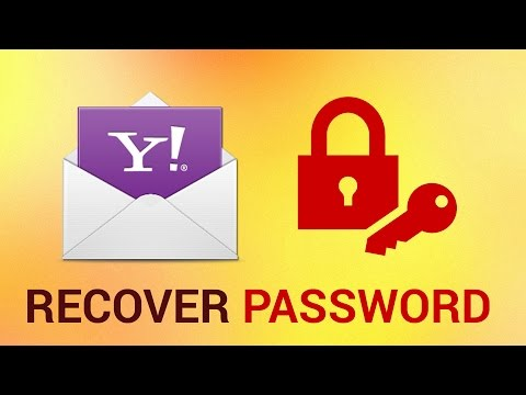 What to Do if You Forgot Your Password in Yahoo