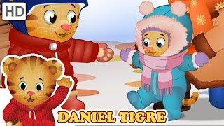 Daniel Tigre em Português ☃️ Está Nevando! ❄️ Vídeos para Crianças
