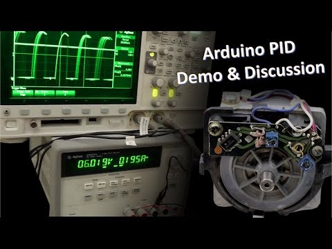 Arduino PID Control Demo and Discussion