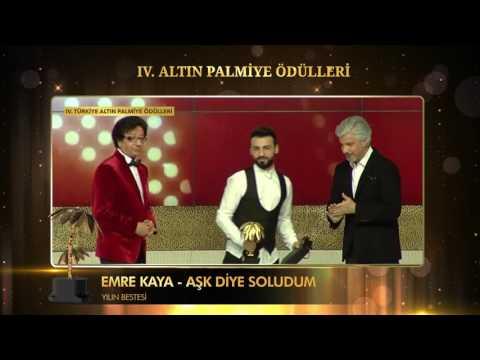 Yılın Bestesi - Emre KAYA - Aşk Diye Soludum - 4. Türkiye Altın Palmiye Ödülleri