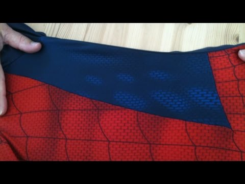 Making The Perfect Spidey Suit - Sewing the Pattern - Old Pattern Version