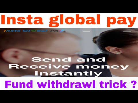 Insta global pay | How to fund withdrawl without card activate | Kyc complete | IGP Reciever |