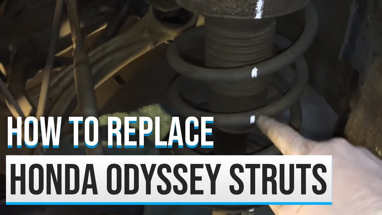 2007 Honda Odyssey Strut Replacement Youtube 2011 Ridgeline Suspension Control Arm Front Left Lower W0133