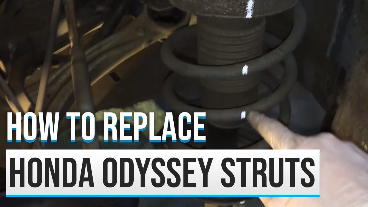 2007 Honda Odyssey Strut Replacement Youtube