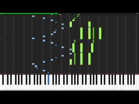 Rustle of Spring - Christian Sinding [Piano Tutorial] (Synthesia)