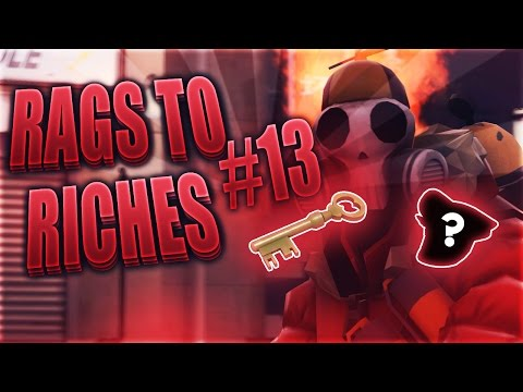 TF2 Rags To Riches #13 - 100 Keys Profit?!