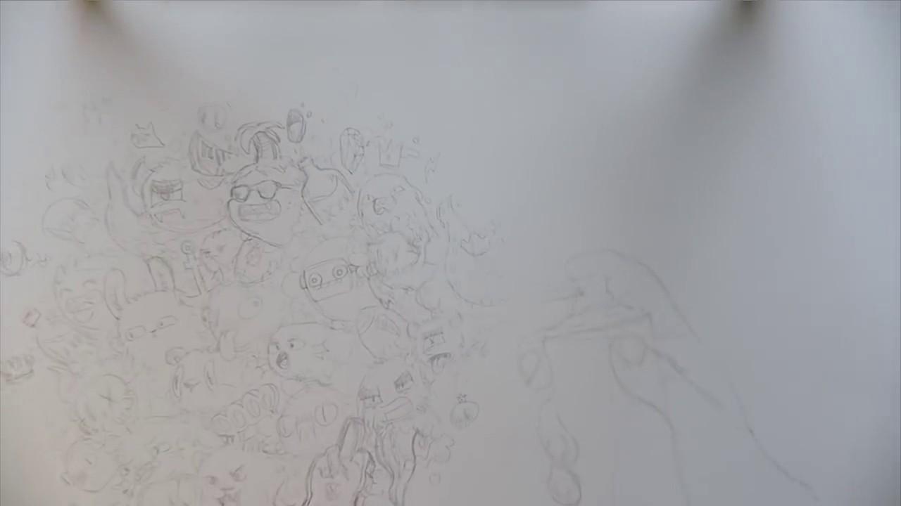 graffiti doodles timelapse sketch youtube