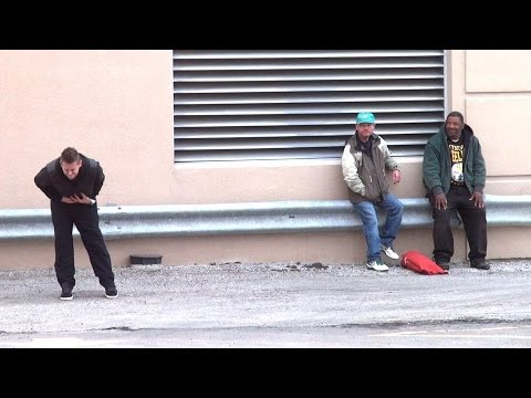 Farting For the Homeless!! Prank!