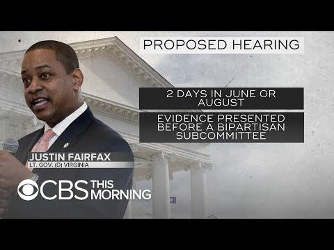 Virginia Republicans say Democrats are blocking public hearing into Justin Fairfax claims