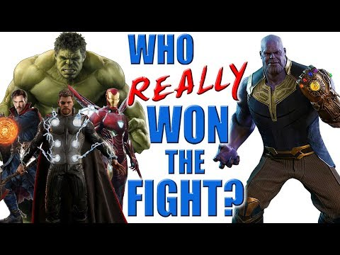Thanos VS Avengers - Who REALLY Won the Fight?