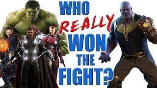 Thanos VS Avengers - Who REALLY Won the Fight?